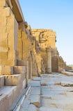 Las ruinas del templo de Kom Ombo Fotos de archivo libres de regalías