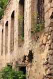 Las ruinas en la ciudad de Shusha Imágenes de archivo libres de regalías