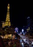 Las 's nachts Vegas Stock Foto