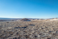 Las Salinas area of the Moon Valley - Atacama Desert, Chile Royalty Free Stock Photo