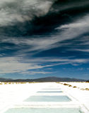 Las Salinas Grandes Royalty Free Stock Photography