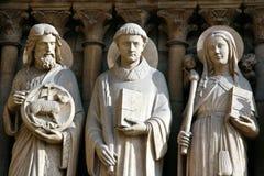 Las santas de la iglesia Fotos de archivo