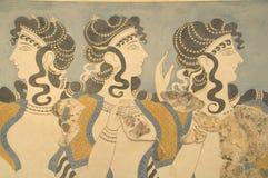 Las señoras de Knosos Foto de archivo libre de regalías