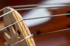 Las secuencias de un violín Imagenes de archivo