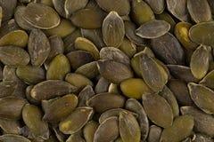 Las semillas de calabaza se cierran para arriba Fotografía de archivo libre de regalías