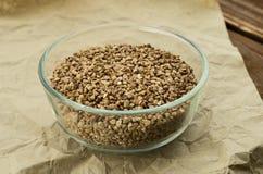 Las semillas del alforfón Fotos de archivo libres de regalías