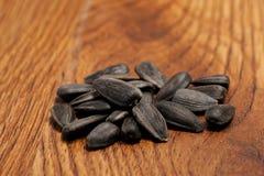 Las semillas del girasol imagen de archivo