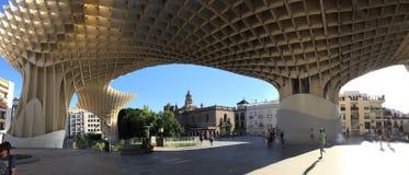 Las setas, Sevilla. Las setas de Sevilla, Spain Royalty Free Stock Photo