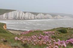 Las siete hermanas, Sussex Imagenes de archivo