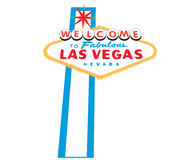 las sign vegas welcome Στοκ Εικόνα