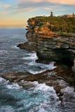 Las simas, bahía de Watson, Sydney fotos de archivo libres de regalías