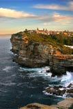 Las simas, bahía de Watson, Sydney Imagenes de archivo