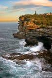 Las simas, bahía de Watson, Sydney fotografía de archivo libre de regalías