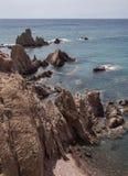 Las Sirenas in the Cabo de Gata-Nijar Natural Park, Take in Almeria, Andalusia, Spain. Las Sirenas in the Cabo de Gata-Nijar Natural Park, Take in Almeria Stock Photography