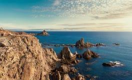 Las Sirenas im Naturpark Cabo Des Gata-Nijar Lizenzfreie Stockbilder