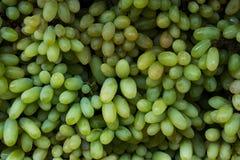 Las sombras de uvas verdes imagen de archivo