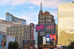 las stan pasek zlany Vegas Obraz Stock
