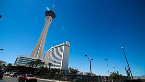 las stratosfera Vegas zdjęcia royalty free