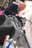 las strzału przedstawienie Vegas fotografia stock