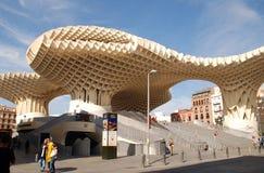 Las szczecinki de Sevilla, Hiszpania zdjęcia stock