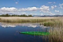 Las Tablas de Daimiel. Spain Lake Royalty Free Stock Photo