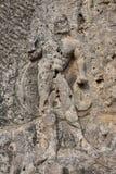 Las tallas de piedra en las grutas de Longmen en la provincia de Henan en China Imagenes de archivo