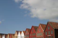 Las tapas de edificios Foto de archivo libre de regalías