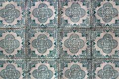 las tejas portuguesas tradicionales nombraron azulejos fotografía de archivo