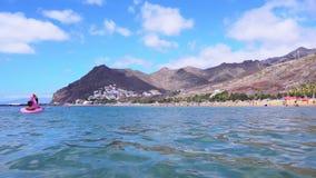 Las Teresitas海滩,特内里费岛 影视素材