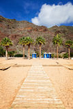 Las Teresitas Beach, Tenerife. View of Las Teresitas Beach, Tenerife, Spain Stock Photography