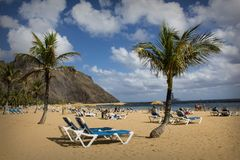 Las Teresitas, Canary Islands royalty free stock images