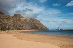 Las Teresitas beach Stock Photo