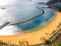Teresitas Beach overlook Stock Images