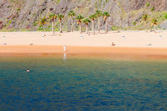 Las Teresitas beach, Tenerife Royalty Free Stock Photo