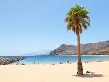 Las Teresitas Beach on Tenerife Stock Photos