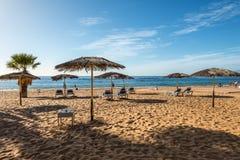 Las-teresitas setzen, Teneriffa, Kanarische Inseln, Spanien auf den Strand Stockbilder
