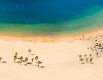 Las Teresitas strand, Tenerife Fotografering för Bildbyråer