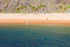 Las Teresitas strand, Tenerife Royaltyfri Foto