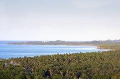 Las Terrenas海滩,多米尼加共和国 免版税库存图片