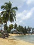 Las terrenas Caribbean beach dominican republic Royalty Free Stock Images