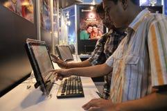 Las TIC justas en Kolkata. Foto de archivo libre de regalías