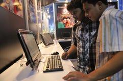 Las TIC justas en Kolkata. Imagen de archivo