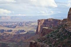 Las tierras del barranco imágenes de archivo libres de regalías