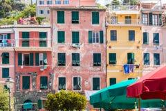 Las tierras hermosas de Cinque Terre Foto de archivo libre de regalías