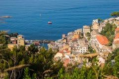 Las tierras hermosas de Cinque Terre Imágenes de archivo libres de regalías
