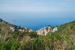 Las tierras hermosas de Cinque Terre Foto de archivo