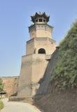 Las torrecillas de la pared imagenes de archivo