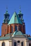 Las torres de la basílica Foto de archivo