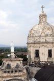 Las torres de la iglesia del la merced Granada Nicaragua Fotos de archivo