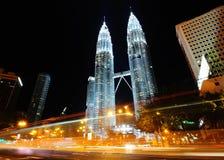 Las torres gemelas de Petronas imagen de archivo libre de regalías